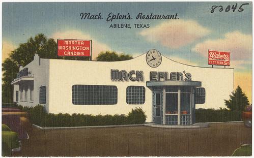 Mack Eplen's Restaurant, Abilene, Texas; Abilene Paradox
