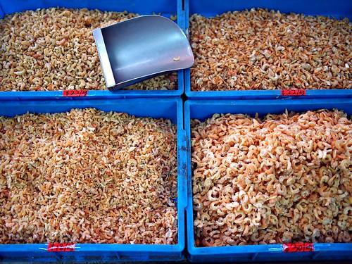 Dried shrimps, Victoria Street Wholesale Centre
