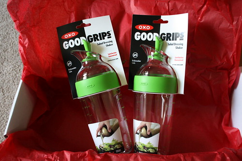 OXO Good Grips salad dressing shakers