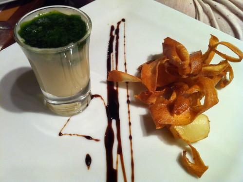 Amuse bouche by Sarah Riordan is Chef du Jour at Fenns Quay