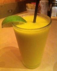 Blended Jalapeno Mango Margarita at Tanner Jacks, Arroyo Grande