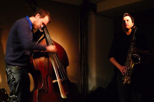 Daniele Martini, Mark Sanders, Dominic Lash @ Cafe Oto 26.2.12