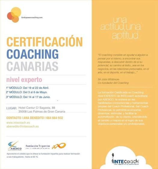 Certificacion Coaching Canarias