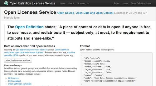 open licensing