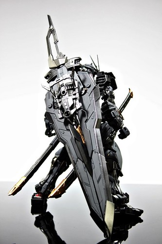Stealth Version Gundam Astray Custom Painted Build (3)
