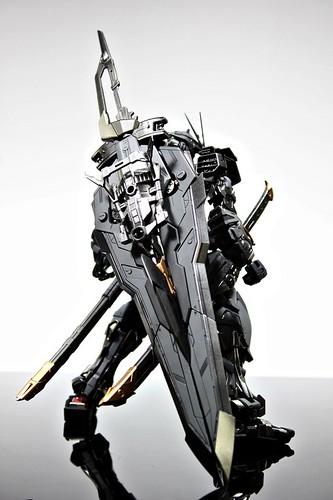 Stealth Version Gundam Astray Custom Painted Build (3)