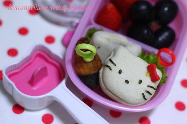 Simple Hello Kitty Bento