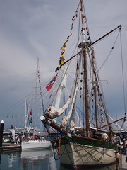 The historic Vega, Boat Asia 2012, Marina @ Keppel Bay