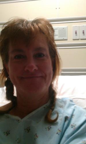 Roberta in hospital 2-15-12