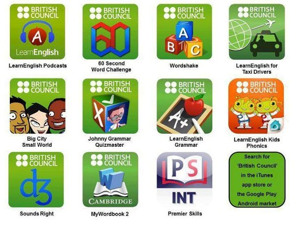Apps from British Council