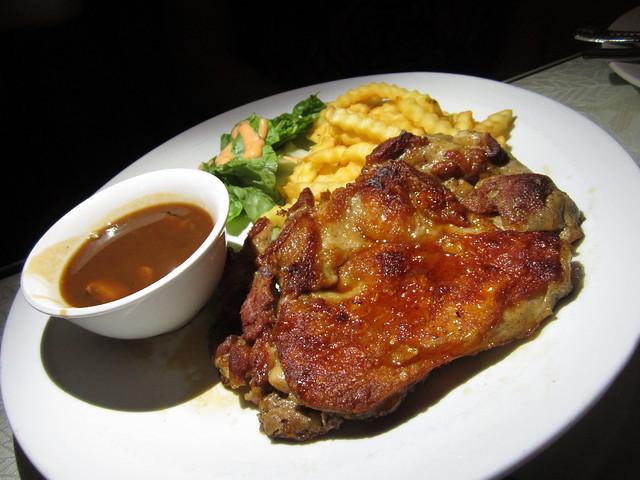 Bistecca & Bistro terrayaki chicken chop