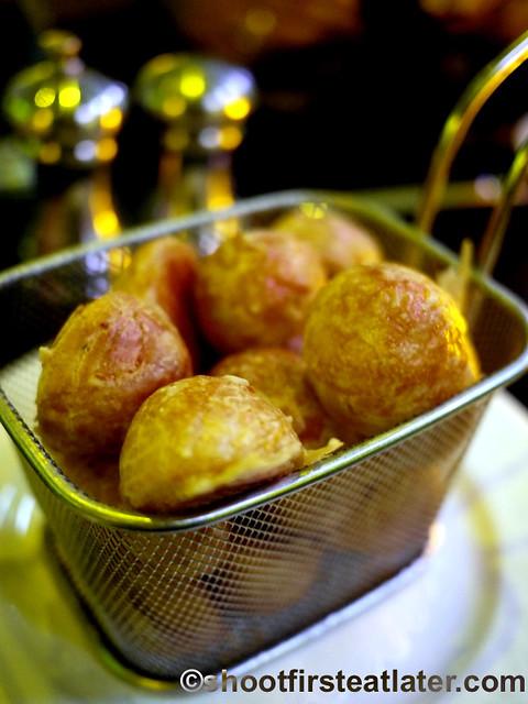 Michel- cheese puffs (gougères) $8