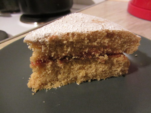 gluten free vicky sponge slice