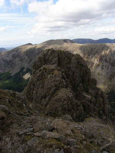 Pillar Rock: Pisgah and High Man. Red Pike and High Stile behind. Galloway Hills top left corner.