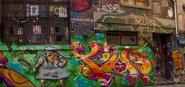 Hosier Lane Panorama 1 2012-02-25 (_MG_3688_9_0_1)