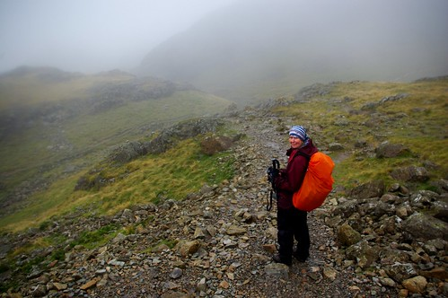 20110924-11_Descent from Scafell Pike in the Mist by gary.hadden