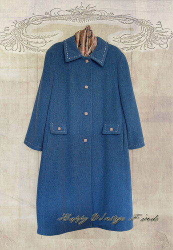 FS/ FA:  Blue Wook Dress Coat
