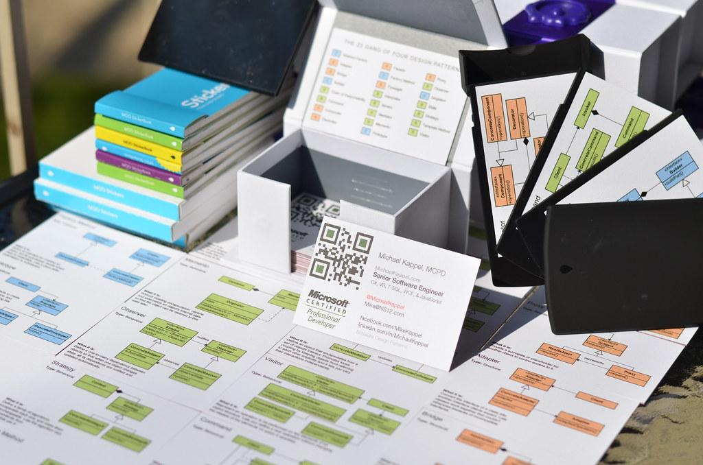 Design Pattern Business Cards