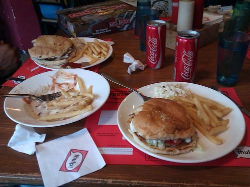 Burgers at thulp! by Ankur Sinha: FranciscoD
