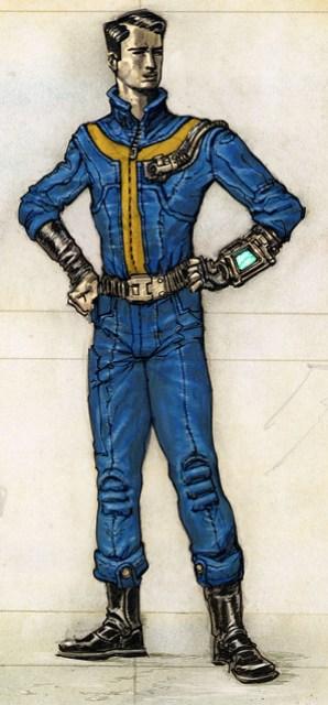 Fallout vault jumpsuit costume