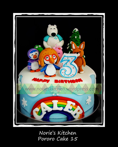 Norie's Kitchen - Pororo Cake 15 by Norie's Kitchen
