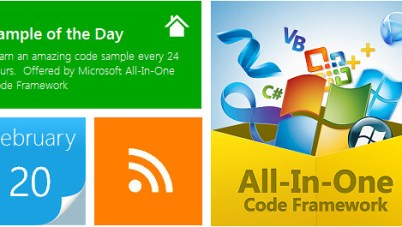 Microsoft Launches Smaple of the Day: Learning Code Sample Series