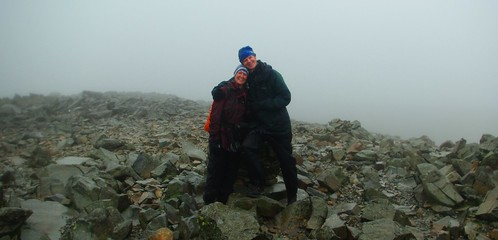20110924-06_At top of Scafell Pike - Wonderful View (sarcastically said) by gary.hadden