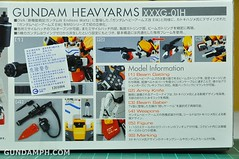MG 1-100 Gundam HeavyArms EW Unboxing OOTB Review (4)