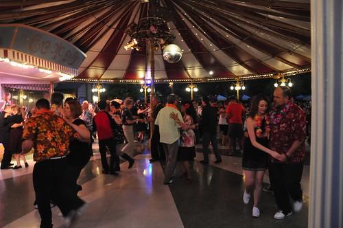 Carnation Plaza Gardens final swing dancing night