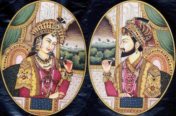 泰姬瑪哈陵-沙賈汗與Mumtaz Mahal