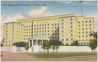 Main building, Hermann Hospital -- Houston, Texas