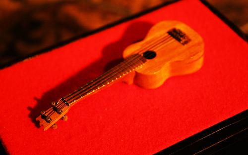 The 1st KoAloha Ukulele - miniature ukulele