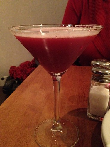 Berry Martini