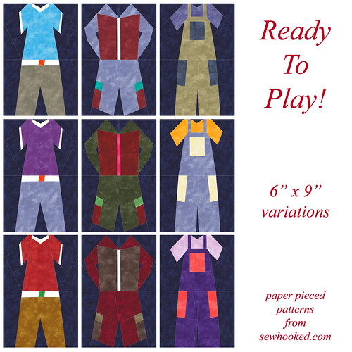 Ready To Play 6 x 9 versions