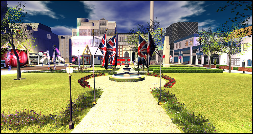Virtual Regent's Park, Second Life