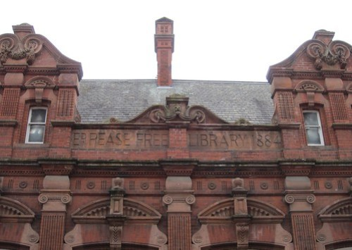 Pease Free Library 1884, Darlington