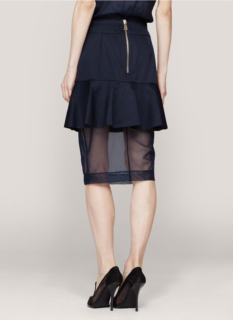 Givenchy Peplum pencil skirt