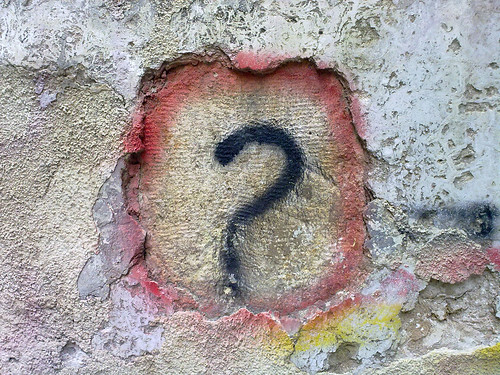 Question Mark Graffiti, a photo by Bilal Kamoon on Flickr.