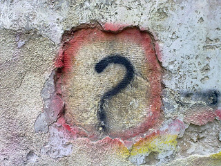Question Mark Graffiti