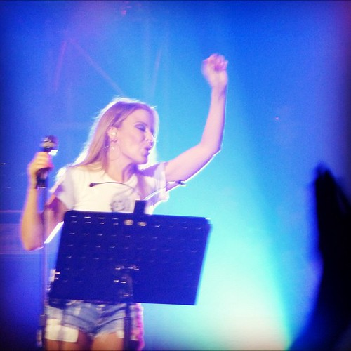 Kylie performs the #antitour, thanks for an awesome show little lady!
