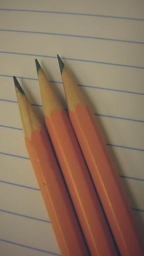 Pencil & Paper 2 (Hint of Vintage)