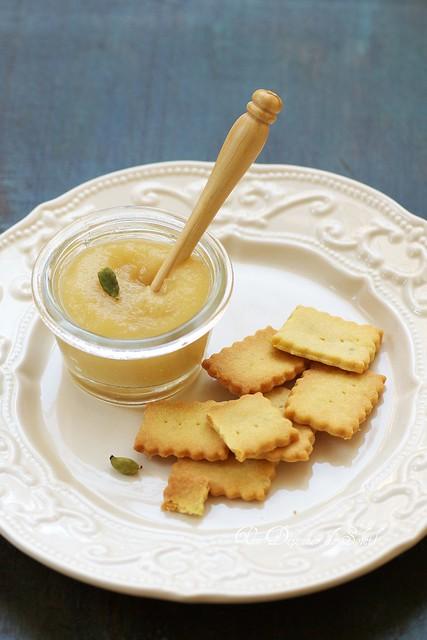 Beurre de pommes - Apple butter
