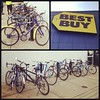 Best Buy's Bike Racks are Full