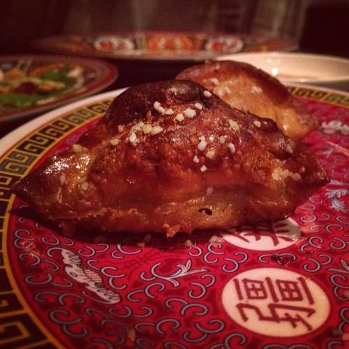 pretzel dumpling - talde restaurant, nyc