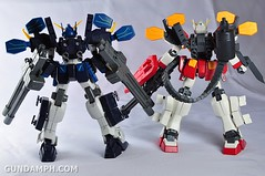 MG 1-100 Gundam HeavyArms EW Unboxing OOTB Review (130)