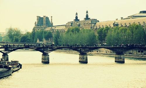 Le Pont des Arts ~ Le Louvre ~ Paris ~ MjYj by MjYj