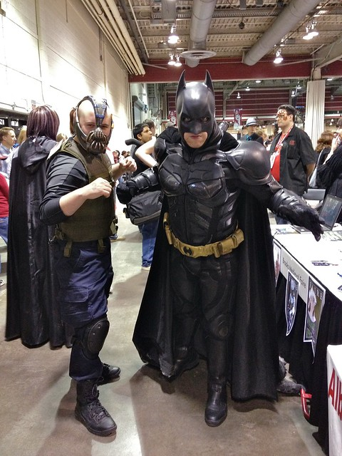 Menacing duo at Calgary Comic and Entertainment Expo