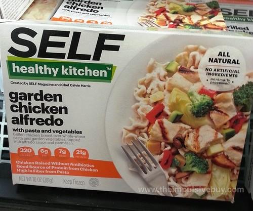 SELF Healthy Kitchen Garden Chicken Alfredo