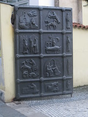 Gates of the Františkánská zahrada