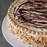 Шоколадова торта с Нутела и лешници
